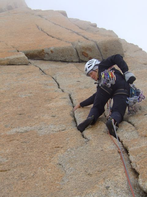 Traditional Climbing on Granite